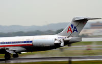 N437AA @ KDCA - Good look at the trust reversers National - by Ronald Barker