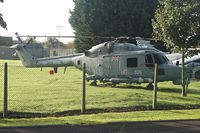 XZ728 @ EGDY - Gate Guard ar RNAS Yeovilton