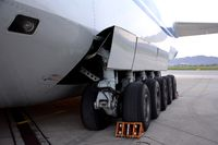 RA-82043 @ LOWG - A massive landing gear - by Paul H