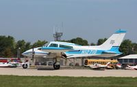 N1271G @ KOSH - Cessna 310Q - by Mark Pasqualino