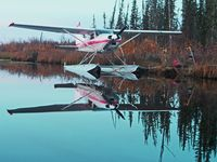 C-FZRF - Bistcho lake alberta - by Mike Sager