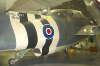 XB446 @ EGDY - Displayed at the Fleet Air Arm Museum at Yeovilton
