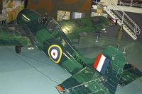 AL246 @ EGDY - Displayed at the Fleet Air Arm Museum at Yeovilton