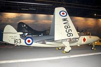 WV856 @ EGDY - Displayed at the Fleet Air Arm Museum at Yeovilton