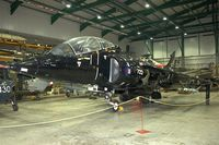 ZB604 @ EGDY - Displayed at the Fleet Air Arm Museum at Yeovilton