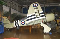 WJ231 @ EGDY - Displayed at the Fleet Air Arm Museum at Yeovilton