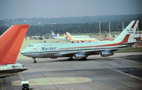C-GXRD @ LGW - Boeing 747-211B of Wardair Canada as seen at Gatwick in the Summer of 1980. - by Peter Nicholson