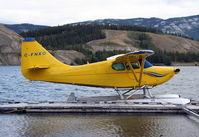 C-FNXO @ CEZ5 - Docked at Schwatka Lake, Whitehorse, Yukon. - by Murray Lundberg