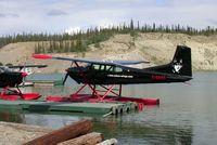 C-GHRB @ CEZ5 - Docked on Schwatka Lake, Whitehorse, Yukon. - by Murray Lundberg