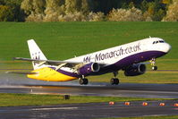 G-OZBP @ EGBB - Monarch - by Chris Hall