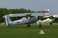 F-BCNL @ LFFQ - Morane Saulnier MS317, La Ferté-Alais Airfield (LFFQ) Air Show 2012 - by Yves-Q