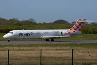 EC-LPM @ LFRB - Boeing 717-2BL, Taxiing to holding point Rwy 07R, Brest-Bretagne Airport (LFRB-BES) - by Yves-Q