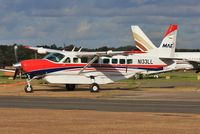 N133LL @ EGHH - Being towed back into ATNorth - by John Coates