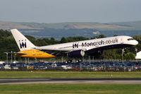 G-MONK @ EGCC - Monarch Airlines - by Martin Nimmervoll