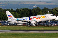 LZ-BHC @ EGCC - BH Airlines - by Martin Nimmervoll