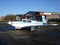 N1158J @ EHGG - mooney at KLS ramp Groningen airport - by Jack Poelstra