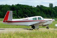 C-FSWR @ CYRO - Mooney M.20E Super 21 [820] Rockcliffe~C 19/06/2005 - by Ray Barber
