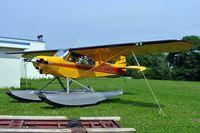 C-FWEK @ CNJ4 - Piper PA-18-150 Super Cub [18-8567] Orillia~C 21/06/2005 - by Ray Barber