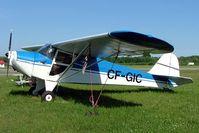 CF-GIC @ CYPQ - Taylorcraft BC-12D [6746] Peterborough~C 20/06/2005 - by Ray Barber