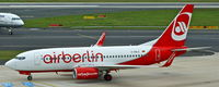 D-ABLE @ EDDL - Air Berlin, seen here shortly after landing at Düsseldorf Int´l(EDDL) - by A. Gendorf