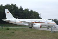 15 02 @ EDDK - Airbus A319-115XCJ of the German Air Force VIP-Wing (Flugbereitschaft) at the DLR 2013 air and space day on the side of Cologne airport
