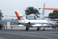 D-CMET @ EDDK - Dassault Falcon 20E-5 of the DLR at the DLR 2013 air and space day on the side of Cologne airport