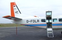 D-FDLR @ EDDK - Cessna 208B Grand Caravan of the DLR at the DLR 2013 air and space day on the side of Cologne airport