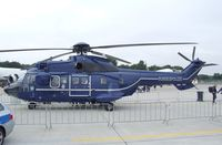 D-HEGK @ EDDK - Aerospatiale AS.332L1 Super Puma of the German federal police (Bundespolizei) at the DLR 2013 air and space day on the side of Cologne airport