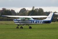 LN-LGB @ EGTK - at Oxford Airport - by Chris Hall