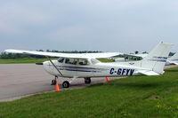 C-GFYV @ CYLS - Cessna 172M Skyhawk [172-67558] Lake Simcoe Regional Airport~C 21/06/2005 - by Ray Barber