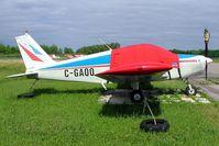 C-GAQQ @ CYRO - Piper PA-28-140 Cherokee [28-20356] Rockcliffe~C 19/06/2005 - by Ray Barber