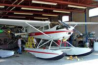 C-GNNR @ CNJ4 - Cessna 180J Skywagon 180 [180-52591] Orillia~C 21/06/2005 - by Ray Barber