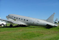C-GJDM @ CYPQ - Douglas DC-3C-47B-1-DL [20721] Peterborough~C 20/06/2005. Stored. - by Ray Barber