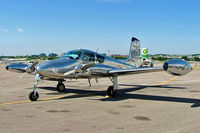 C-GHDK @ CYKZ - Cessna 310B  [35558] Toronto-Buttonville~C 22/06/2005 - by Ray Barber