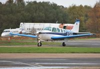 D-EWUI @ EGHH - Taxiing back to Airtime North. - by John Coates