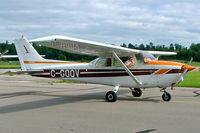 C-GQQV @ CYRO - Cessna 172N Skyhawk [172-72866] Rockcliffe~C 19/06/2005 - by Ray Barber
