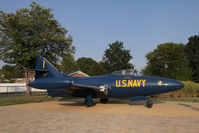 125992 @ NONE - 125992  F9F-5 Panther now on display off-airport at Bowling Green KY - by Pete Hughes