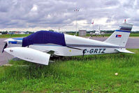 C-GRTZ @ CYRP - Piper PA-28-140 Cherokee C [28-26855] Ottawa-Carp~C 19/06/2005 - by Ray Barber