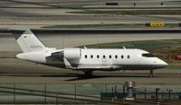 N261PW @ KLAX - Taxiing to parking at LAX