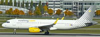 EC-LVS @ EDDM - Vueling Airlines, fitted with the new sharklets, seen here departing at München(EDDM) - by A. Gendorf