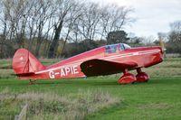 G-APIE @ EGSV - Just landed. - by Graham Reeve
