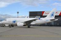 D-ALXX @ LOWW - Airbus A319
