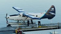 C-FHAA @ CYHC - Harbour Air #309 at Coal Harbour terminal in the early morning. - by M.L. Jacobs