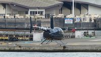 C-FVME @ CBC7 - Sky Helicopters landed at Vancouver Harbour Heliport. - by M.L. Jacobs