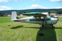N6481T @ KWBW - C.150 Wilkes-Barre Wyoming Airport - by Jack Poelstra