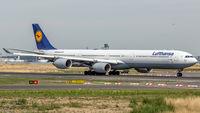 D-AIHK @ EDDF - departure from Frankfurt