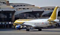 A9C-AH @ OERK - After Landing Taxi to the Gate at Riyadh - by Odai Ayyad