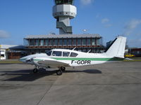 F-GOPR @ EHGG - PA-23 F-GOPR at ramp of Groningen airport - by Jack Poelstra