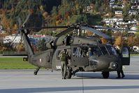 6M-BD @ LOWI - Austrian Air Force Black Hawk - by Dietmar Schreiber - VAP