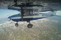 N735LS @ INFLIGHT - Regal Air Cessna 206